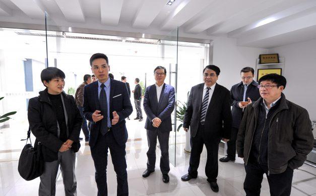 国家人社部市场司副司长孙晓丽莅临杰艾人力资源集团考察指导